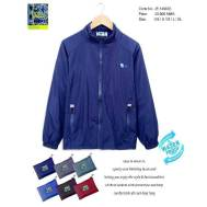 TRI Two Layers Rain Jacket [ Dark Blue, Nude Brown, Gray, Light Blue, Brown, Red ] (JE-149603)