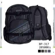 TRI Backpack - Black (BP-317)
