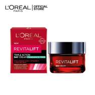 L'OREAL REVITALIFT TRIPLE ACTION RENEWING ANTI AGING DAY CREAM 50ML (G3840100)