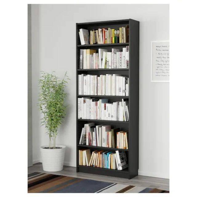 IKEA BILLY (Bookcase, black-brown-L) (203.515.82)