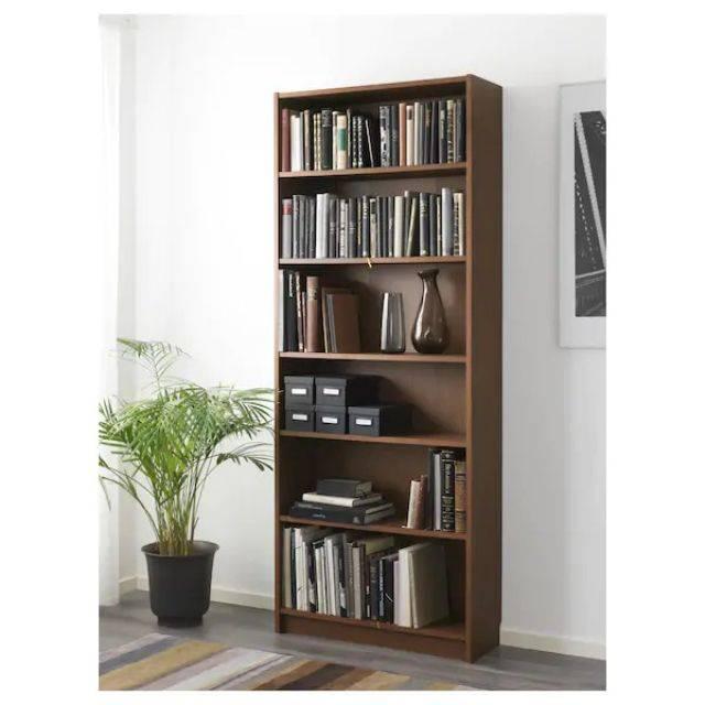 IKEA BILLY (Bookcase, brown ash veneer-L) (503.515.28)