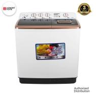 WONDER HOME Turbo Dry Tech Semi Auto Twin Tub Washing Machine 13 KG (WH-WM-D13)