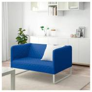 IKEA KNOPPARP (2-seat sofa, knisa light blue) (904.246.55)