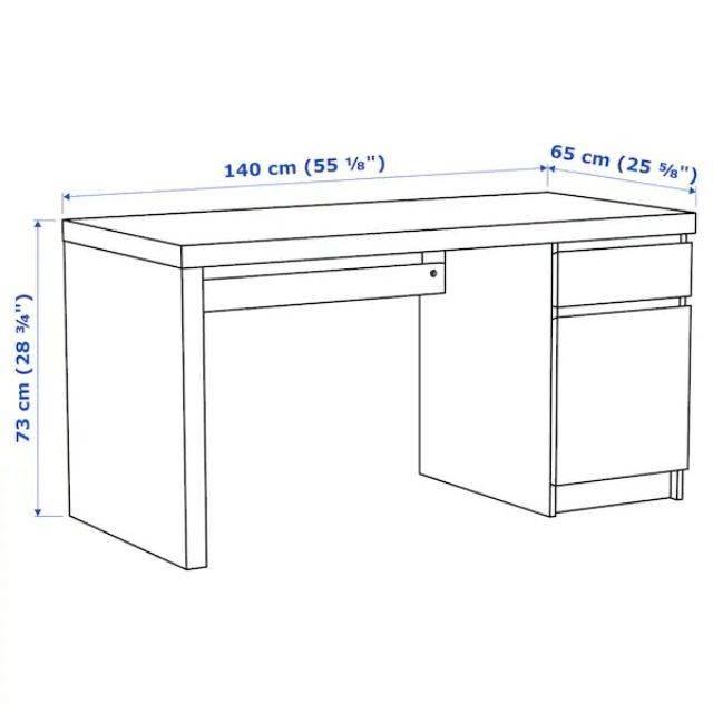IKEA MALM Desk (503.617.54)