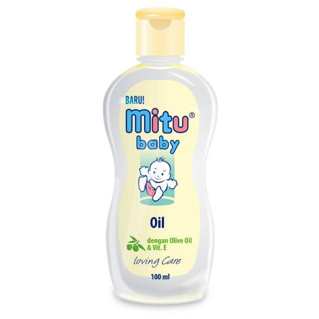 MITU BABY OIL BOTTLE 100ML