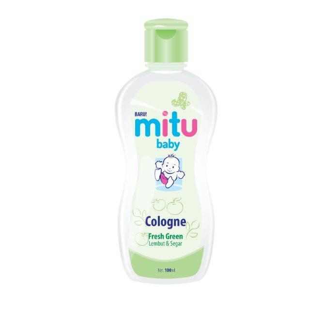 MITU BABY COLOGNE BOTTLE 100ML (GREEN)