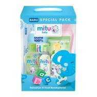 MITU BABY BOX PAKET Blue (Buy Any 5000ks Give Mitu Powder 50g (1pcs) Buy Any 10000ks Give Mitu Powder 100g(1pcs))