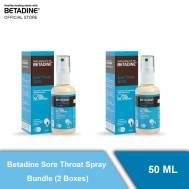Betadine Sore Throat Spary Bundle (2 Boxes) 50 ml