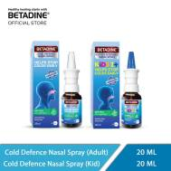 Betadine Cold Defence Nasal Spary Adult & Kids (Family Combo) ( 20 ml & 20 ml)