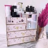 Selfiee DIY Wooden Cosmetic Organizer