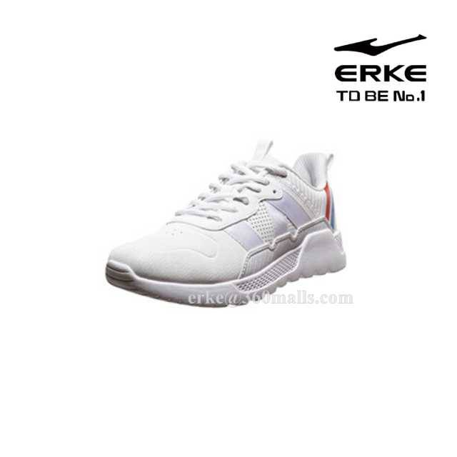 ERKE W.Jogging Shoes - White - 12119320397-001