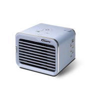 PowerPac Portable Mini Air Cooler Humidifier, Desk, and Table Air Circulator (PP7318)
