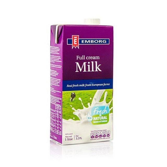 Emborg Full Cream Milk 1Lit