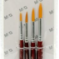 WaterColor Paint Brush Set (Red)