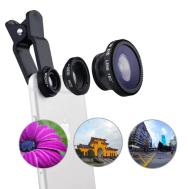 Universal 3 in 1 Wide Angle Macro Fisheye Lens