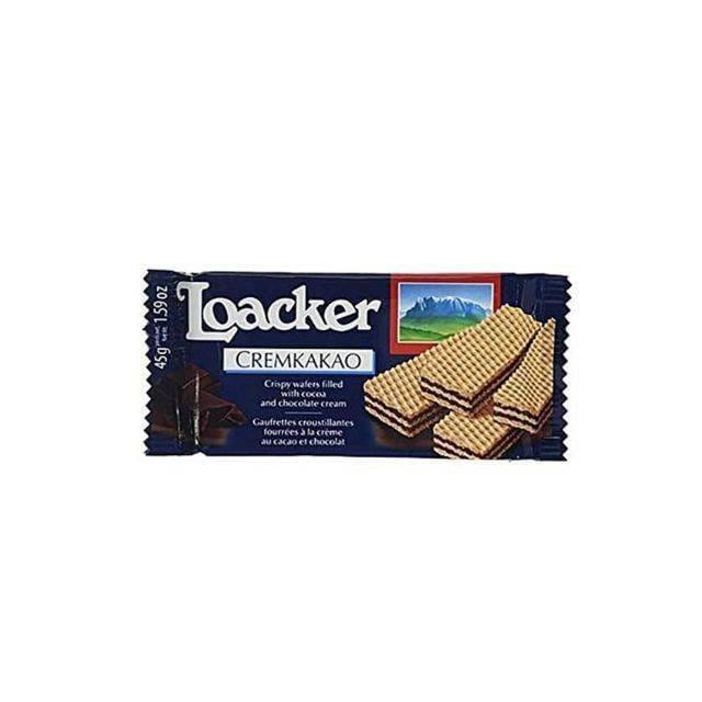 Loacker Cremkakao Crispy Wafer 45Gm