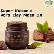 Innisfree Super Volcanic Pore Clay Mask 2X (100ml) (IFS-30)