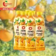 Zeno Orange 380Ml (1Pack × 6Pcs)