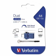 Verbatim OTG Type C Drive (3.0) - 64GB (Product Code-49967)