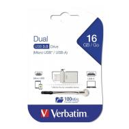 Verbatim Store 'n' OTG Micro Drive 3.0 - 16GB (Product Code-49825)