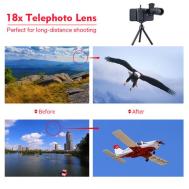 Pro Series 18x Telephoto Zoom Lens