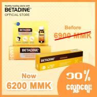 Betadine Clear Liquid Bandage 8g & Ointment 10g