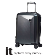 it Luggage Confide Charcoal Carbon Effect (Small) 018010401