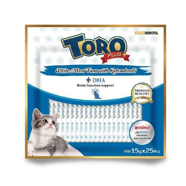 Toro White Meat Tuna with Katsuobushi 375g( 1Pk × 25Pcs)