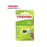 Toshiba Micro SD Card 32GB C10 UHS-1 100MB/s - (Free gift: plastic case)