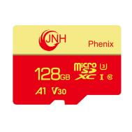 JNH Micro SDXC 128GB Class 10 U3 V30 A1 4K Ultra HD