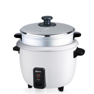 PowerPac 1.8L Rice Cooker with Steamer and Aluminium Inner Pot (PPRC8)