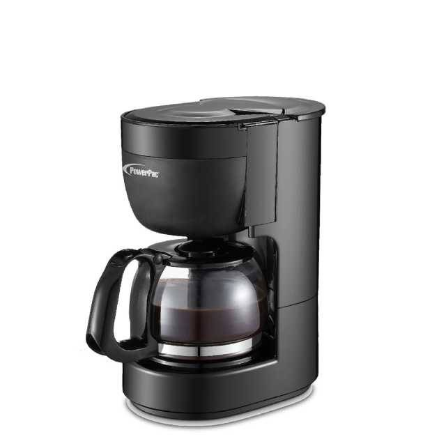 PowerPac 0.65L Coffee Maker with Thermostatic Panel and Washable Filter (PPCM301)