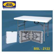 ASA 4' Rectangle Folding Half Table BSL - Z122