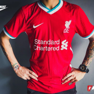 Liverpool Home Kit 2020-21 (Player Version)