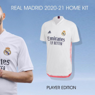 Real Madrid Home Kit 2020-21 (Player Version)