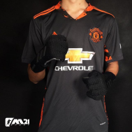 Manchester Untied GK Kit 2020-21 (Fan Version)