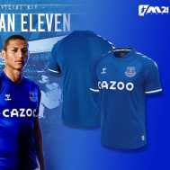 Everton Home Kit 2020-21 (Fan Version)