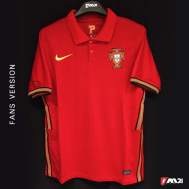 Portugal Home Kit 2020-21 (Fan Version)