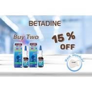 Betadine Cold Defense Nasal Spary (Kids) (2 Boxes) 20 ml (Gift - Mask )