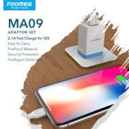 Foomee iOS Adaptor Set (MA09), (White)