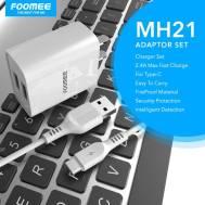 Foomee Type-C Adaptor Set (MH21), (White)