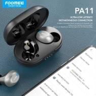 Foomee Bluetooth Headset (PA11), (Black)
