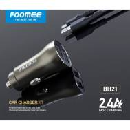 Foomee Car Charger (BH21), (Black)
