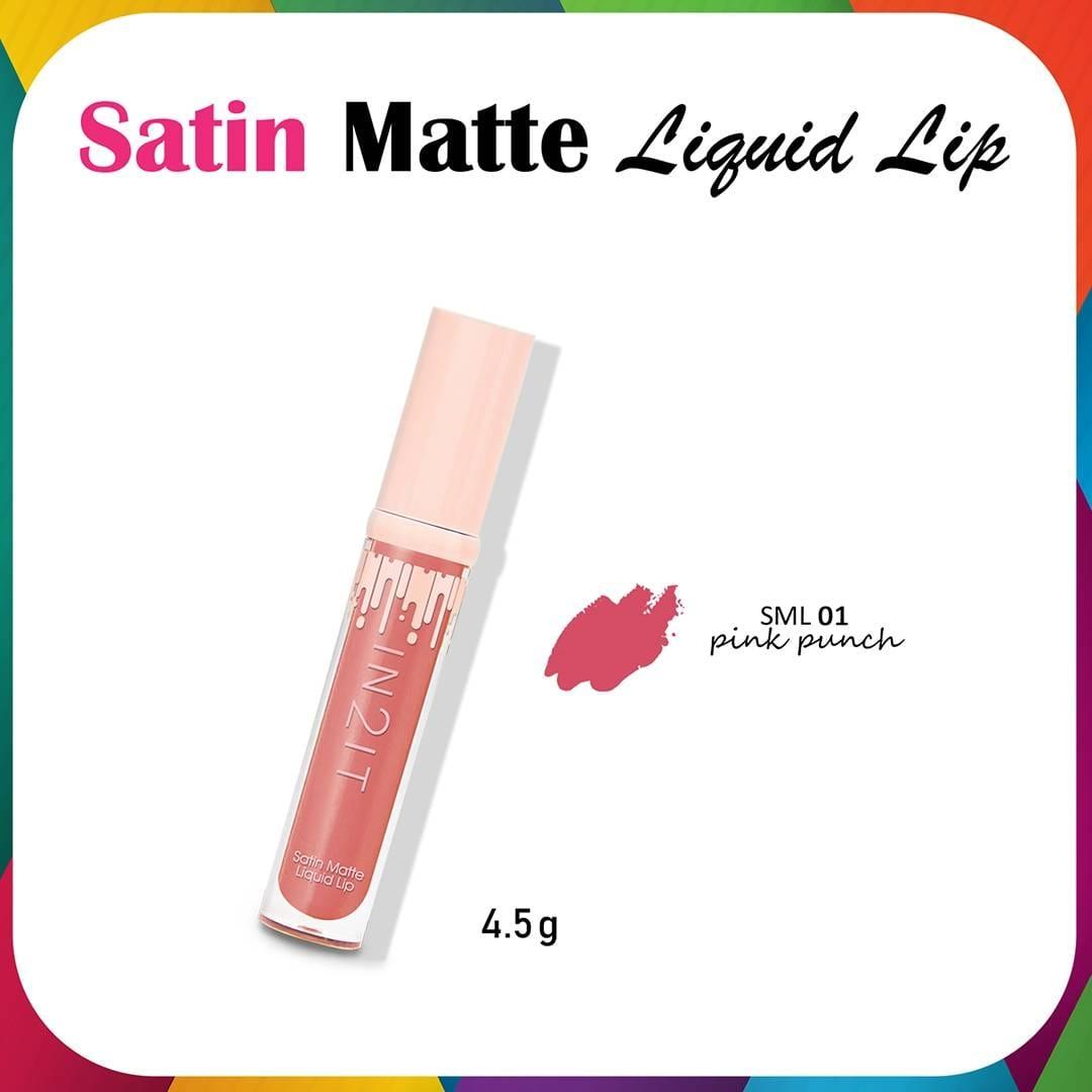 IN2IT Satin Matte Liquid Lip 4.5 g