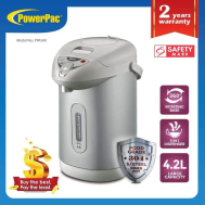PowerPac 4.2L ELECTRIC AIRPOT WITH 3-WAY DISPENSER AND RE-BOIL (PPA340)