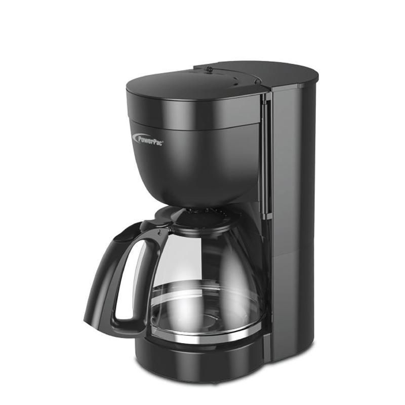PowerPac 1.25L COFFEE MAKER WITH DRIP STYLE COFFEE MACHINE (PPCM302)