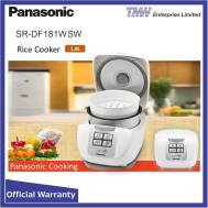 PANASONIC Fuzzy Logic Rice Cooker 1.8 L (SR-DF181)
