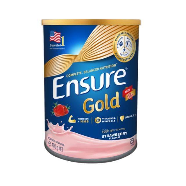 Ensure Gold Strawberry 400gm (1x24Pcs) (0201112017)