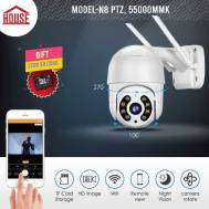 The HOUSE N8 PTZ Camera (Indoor, Outdoor)
