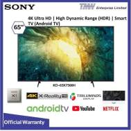 SONY 65 Inch LED 4K Ultra HD Smart TV (KD-65X7500H)